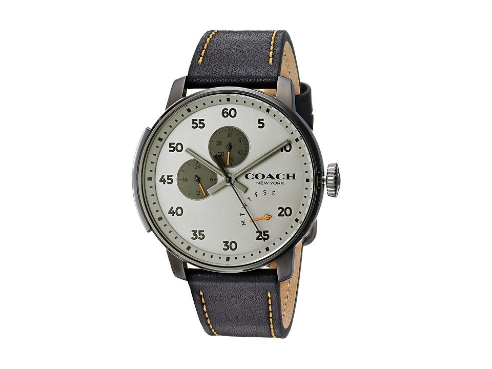 COACH - Bleecker - 14602338 (Black) Watches