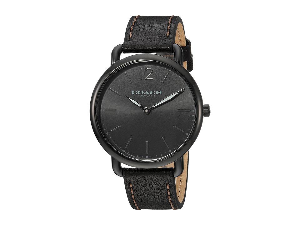COACH - Delancey Slim - 14602346 (Black) Watches