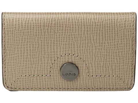 Lodis Accessories Business Chic RFID Mini Card Case - Taupe