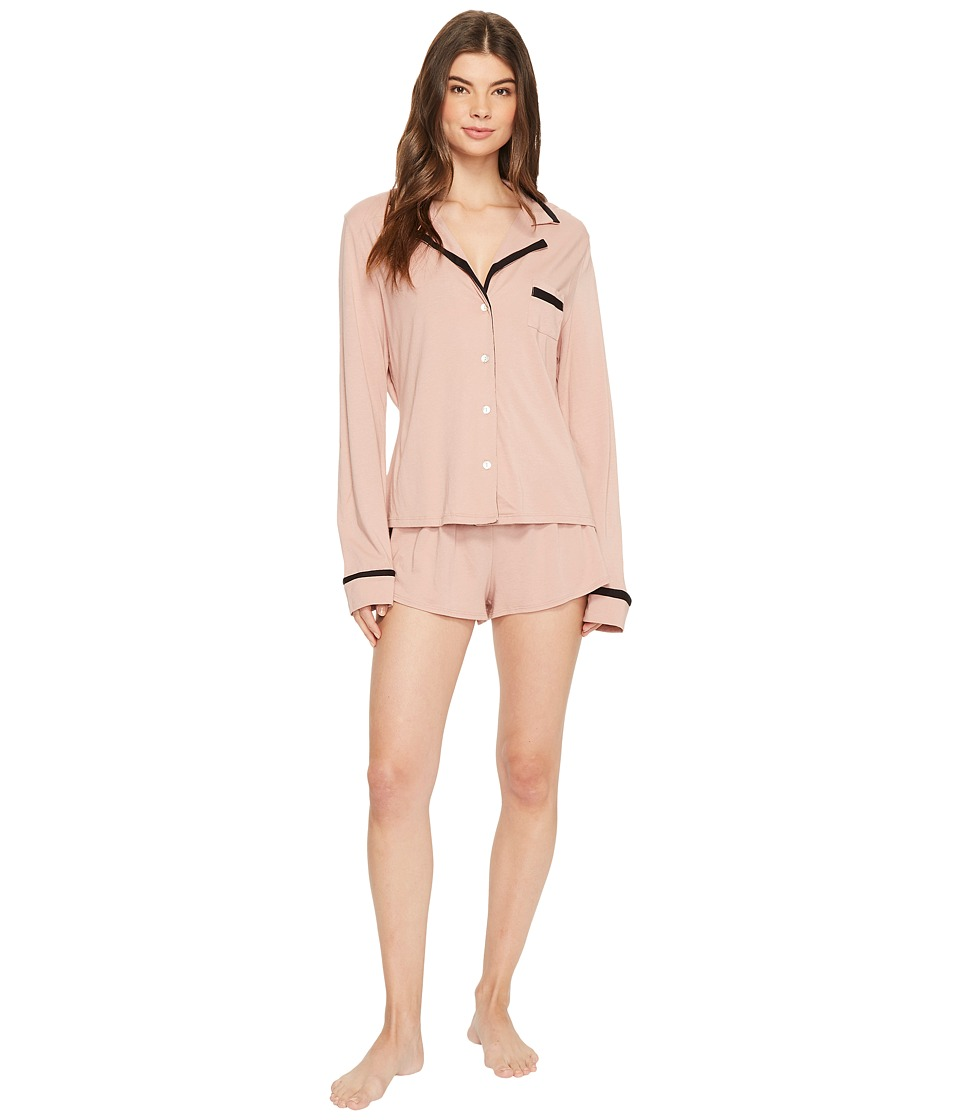 Cosabella - Bella Amore Long Sleeve Top Boxer PJ Set