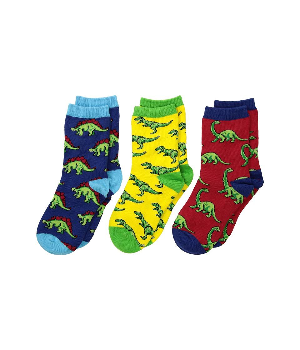 Socksmith - Dino-Mite! (Toddler/Little Kid/Big Kid) (Variety) Crew Cut Socks Shoes