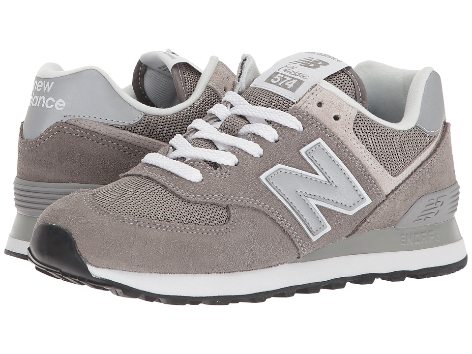 New Balance Classics WL574v2 (Grey/White) Women's Running Shoes