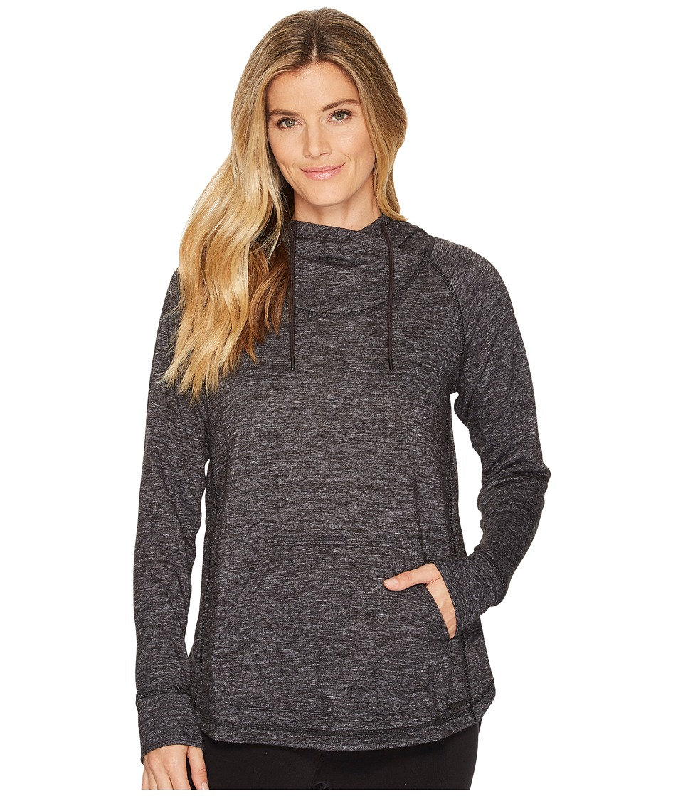 New Balance - Evolve Soft Hoodie (Black Heather) Womens Sweatshirt
