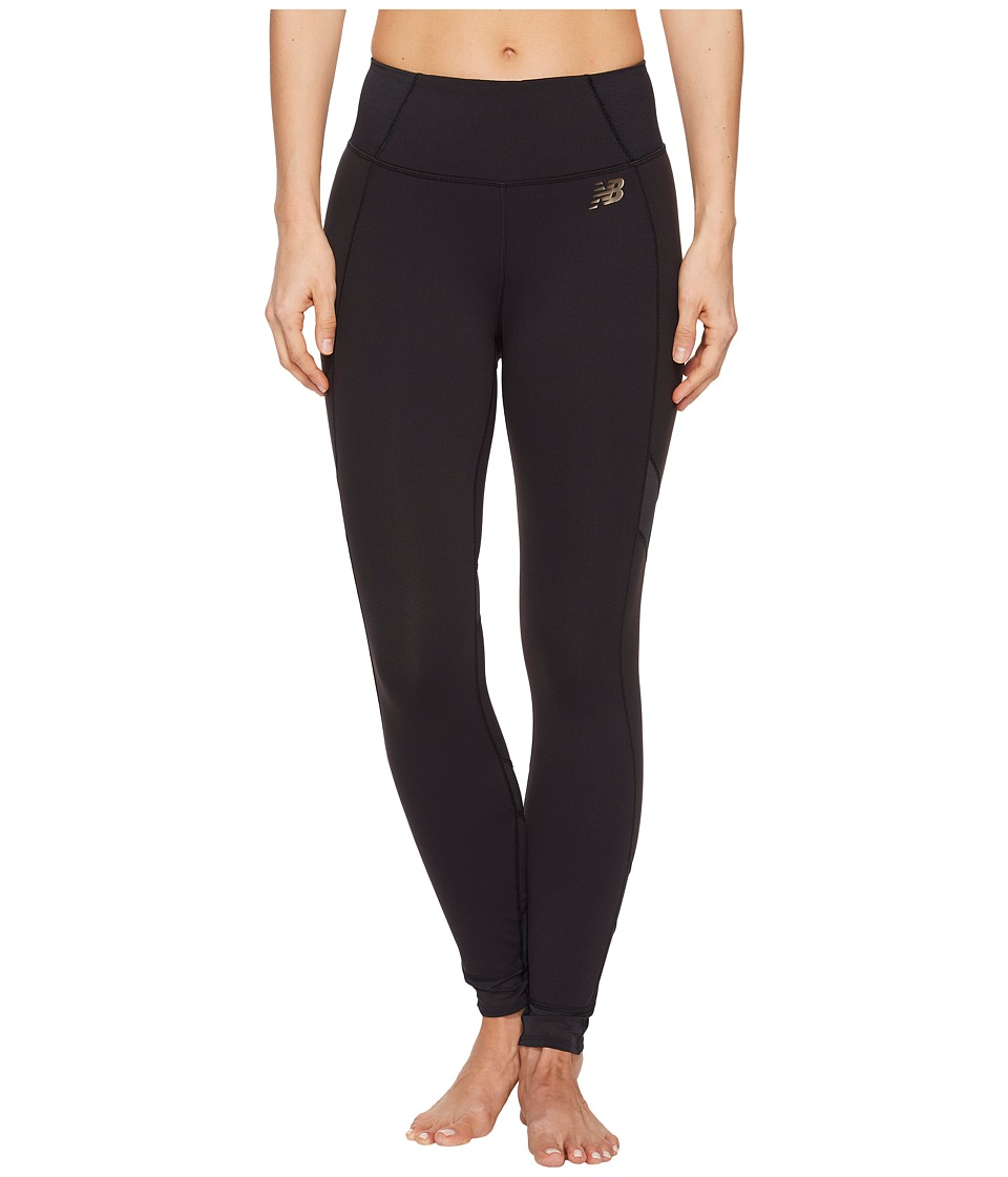 New Balance - Evolve Tights (Black) Womens Workout
