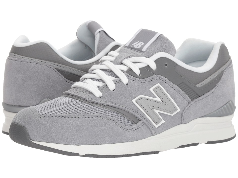 New Balance Classics - WL697v1 (Steel/Metallic Silver) Womens Running Shoes