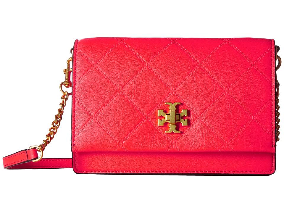 Tory Burch Georgia Turn-Lock Mini Bag (Dahlia Pink) Bags
