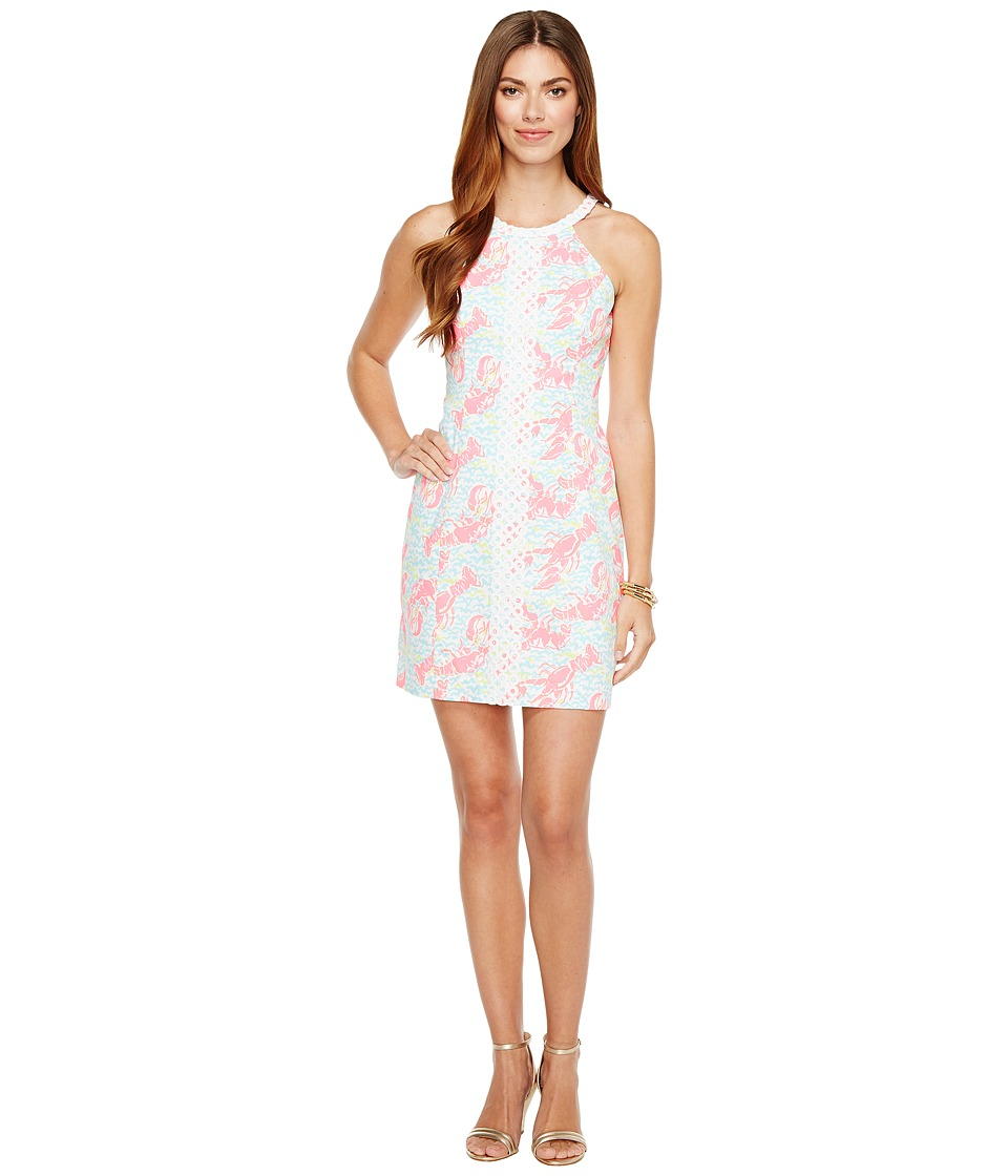 Lilly Pulitzer Pearl Shift (Resort White Pop Up Lobstah Roll) Women