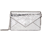 Tory Burch Crackle Metallic Envelope Mini Bag