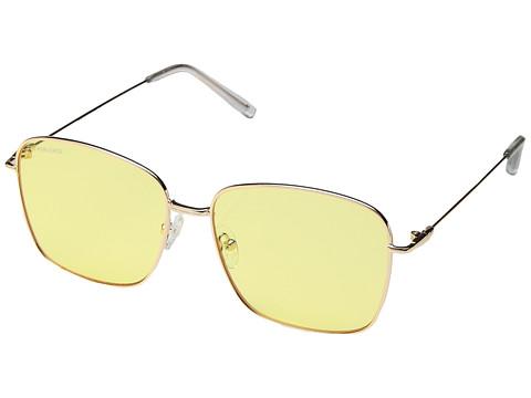 PERVERSE Sunglasses Eva - Sunshine/Gold Metal/Yellow