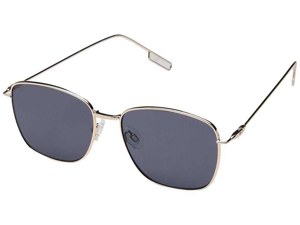 PERVERSE Sunglasses Em (Darling/Gold Metal/Black) Fashion Sunglasses