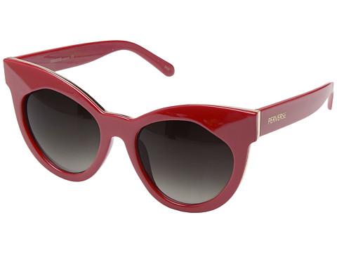 PERVERSE Sunglasses Cosmopolitan - Cranberry/Glossy Red/Black Gradient