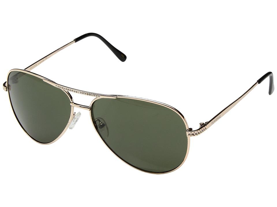 PERVERSE Sunglasses Whiskey (Lowlands/Silver/Smoke Mirrored) Fashion Sunglasses