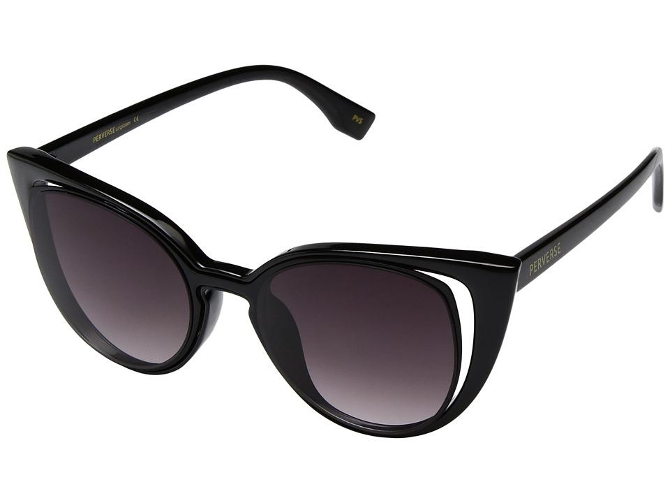 PERVERSE Sunglasses Saga (Legend/Glossy Black/Black Gradient) Fashion Sunglasses