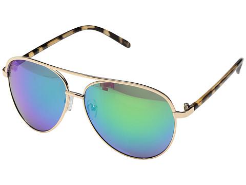 PERVERSE Sunglasses Eagle - Fly/Gold/Rainbow Mirrored