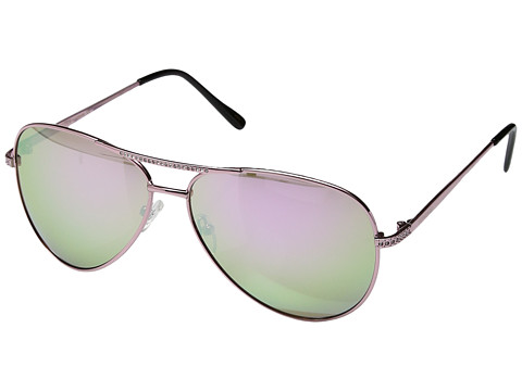 PERVERSE Sunglasses Whiskey - Islands/Rose Gold/Rose Gold Mirrored