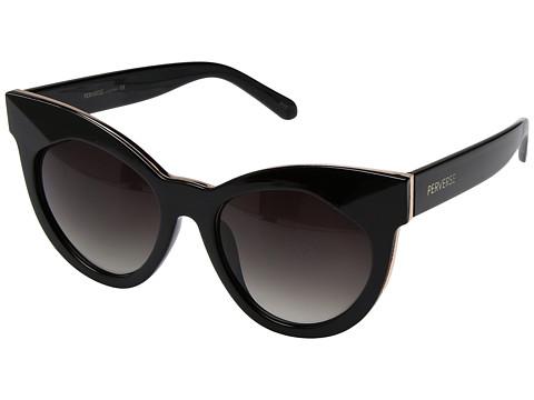 PERVERSE Sunglasses Cosmopolitan - Carrie/Glossy Black/Black