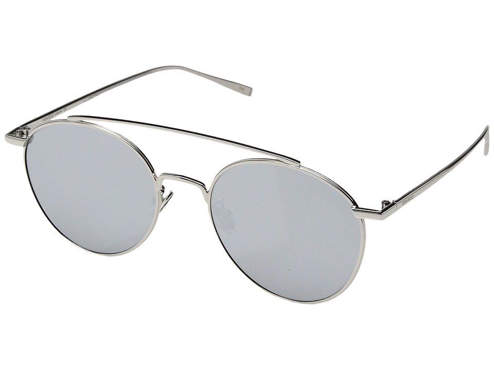 PERVERSE Sunglasses Elaine (Americano/Silver Metal/Brown Gradient) Fashion Sunglasses