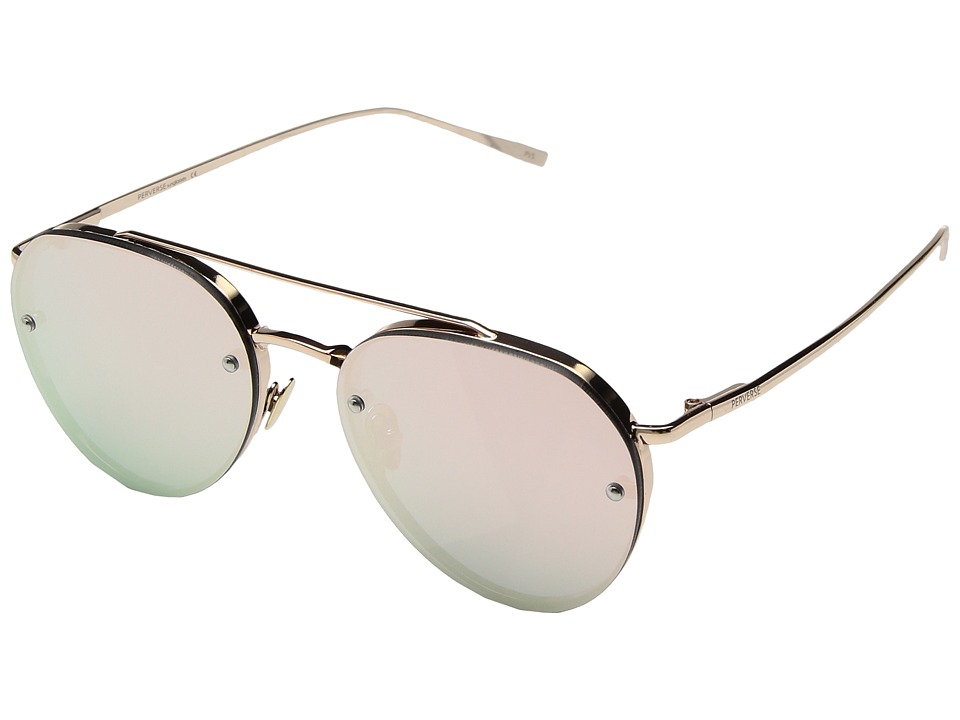 PERVERSE Sunglasses Dean (Perry/Gold Metal/Rose Gold Mirrored) Fashion Sunglasses