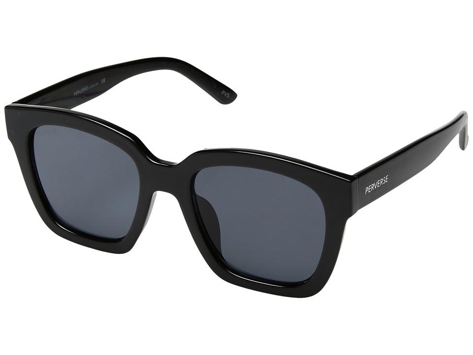 PERVERSE Sunglasses - Ace (Haute/Jet Black/Black) Fashion Sunglasses