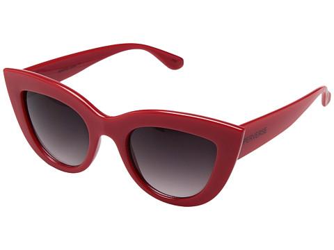 PERVERSE Sunglasses Acid - Red/Glossy Red/Black Gradient