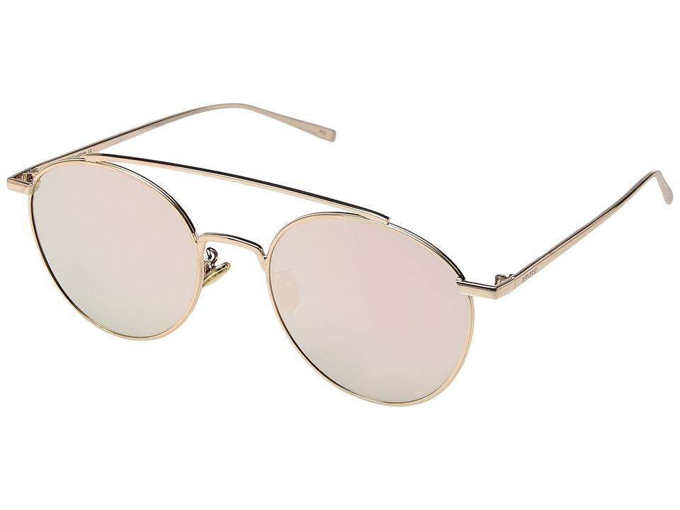 PERVERSE Sunglasses Elaine (Oakland/Gold Metal/Rose Gold Mirrored) Fashion Sunglasses