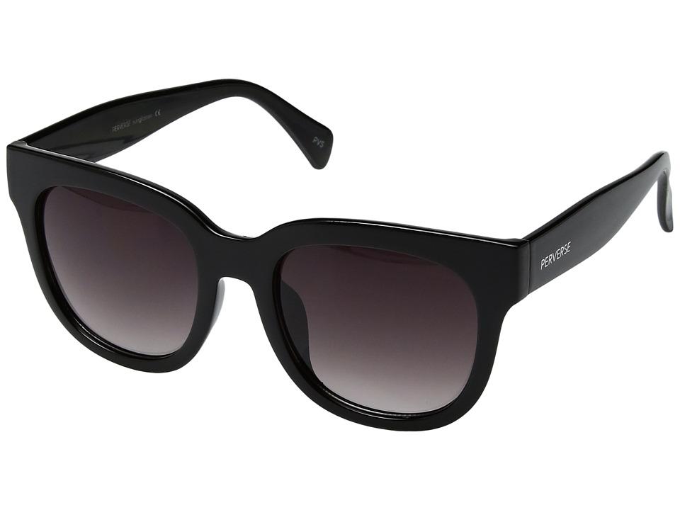 PERVERSE Sunglasses - Dawn Patrol (Dark/Glossy Black/Black Gradient) Fashion Sunglasses