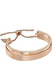 GUESS - Double Bangle Slider Close Bracelet