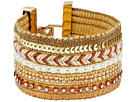 GUESS - Wide Mixed Media Chain Luxe Bracelet