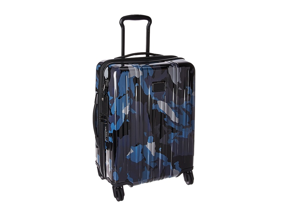Tumi V3 Continental Expandable Carry-On (Blue Camo) Carry on Luggage
