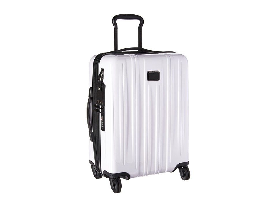 Tumi V3 Continental Expandable Carry-On (White) Carry on Luggage