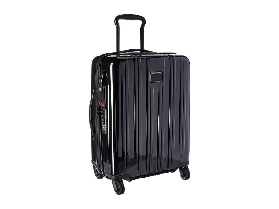 Tumi V3 Continental Expandable Carry-On (Black) Carry on Luggage
