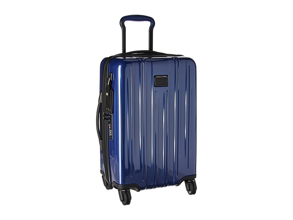 Tumi V3 International Expandable Carry-On (Pacific Blue) Carry on Luggage