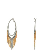 GUESS - Hoop Earrings with Chain Fringe