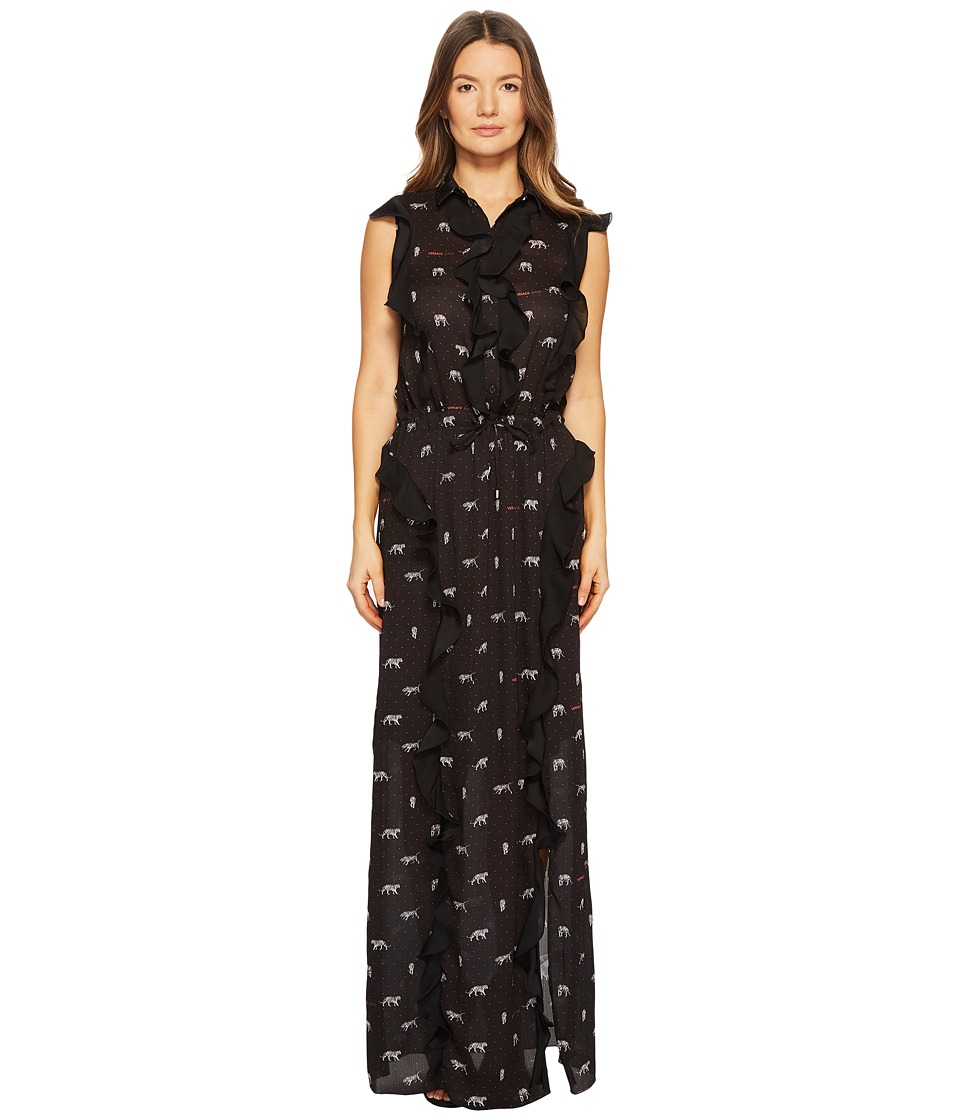 Versace Jeans - Maxi Dress (Black) Womens Dress