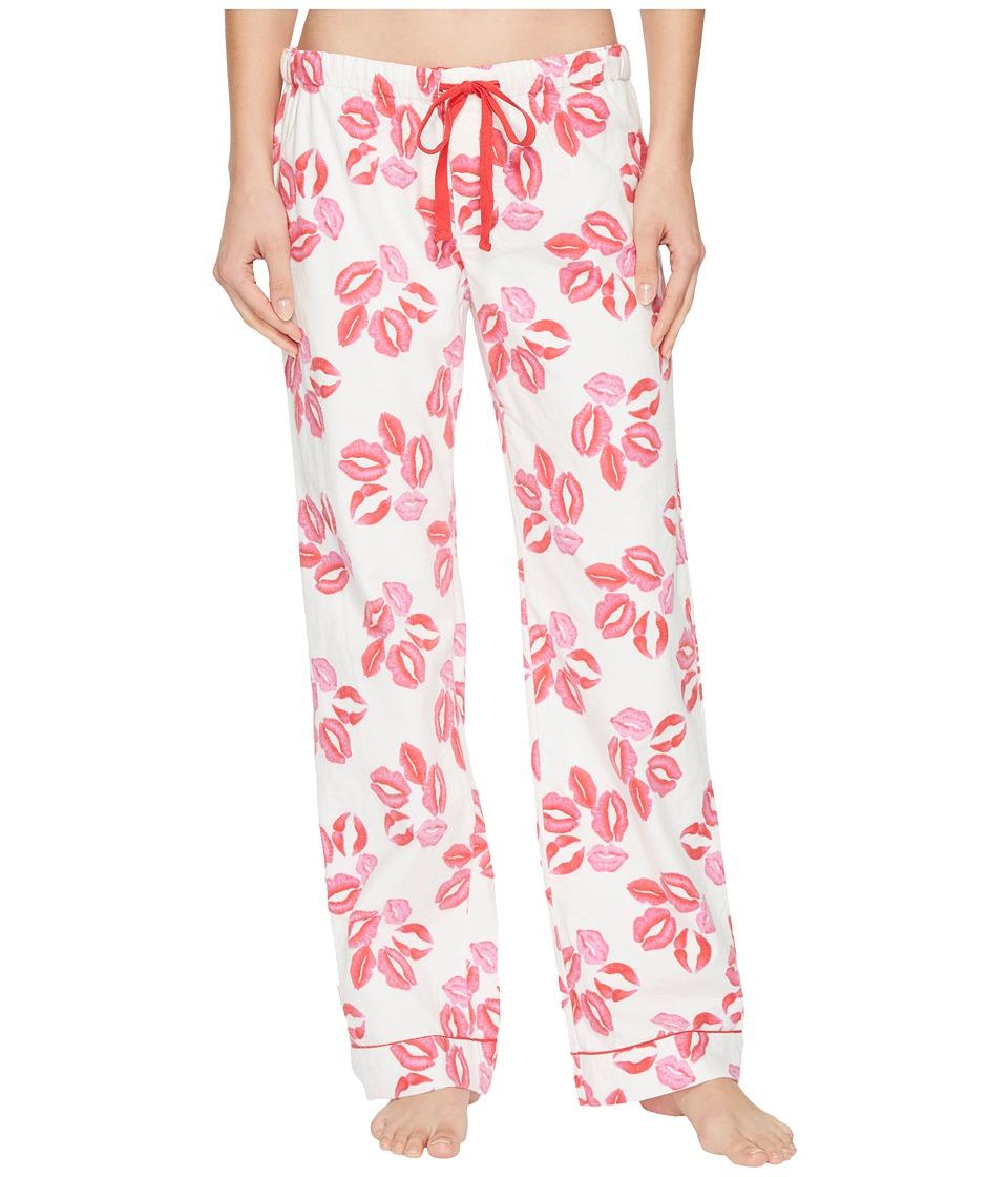 P.J. Salvage - Lips PJ Pants (Ivory) Womens Pajama