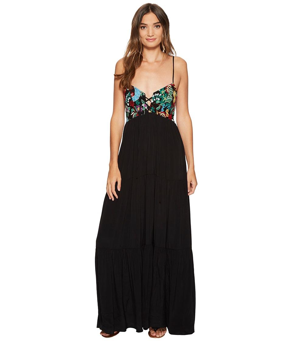 Jen's Pirate Booty - Tropical Forest Midsummer Nights Maxi Dress