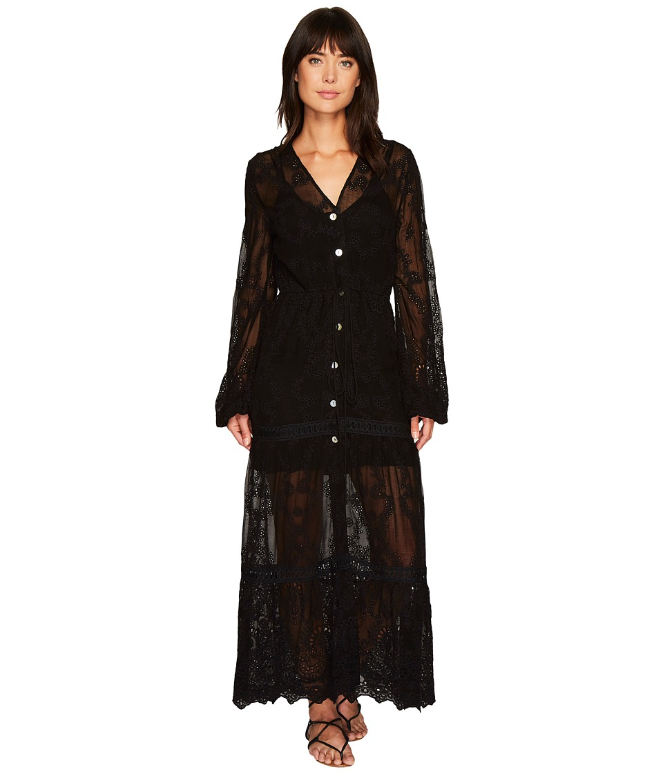 Jen's Pirate Booty - Nicobar Dress Duster (Black Eyelet) ...