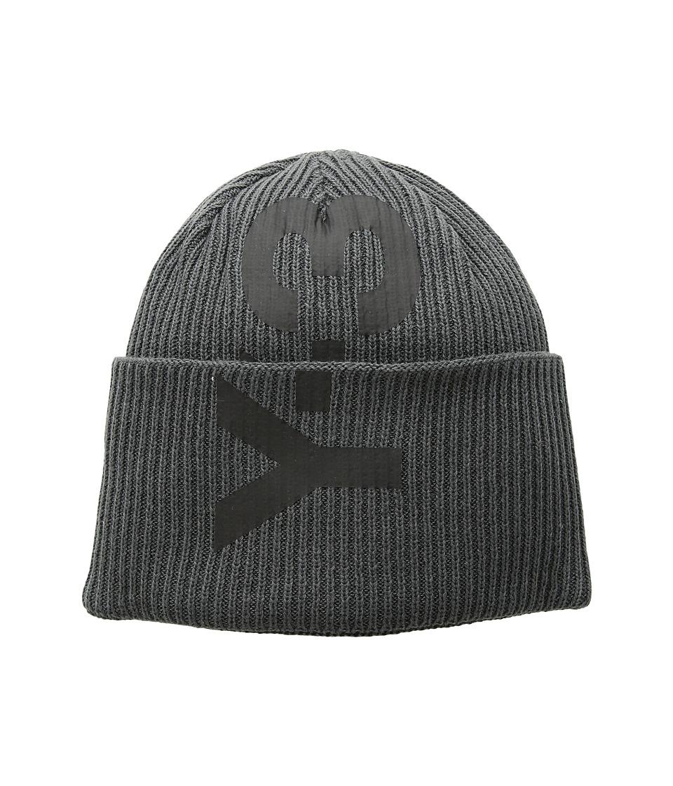 adidas Y-3 by Yohji Yamamoto - Logo Beanie (Solid Grey) Caps