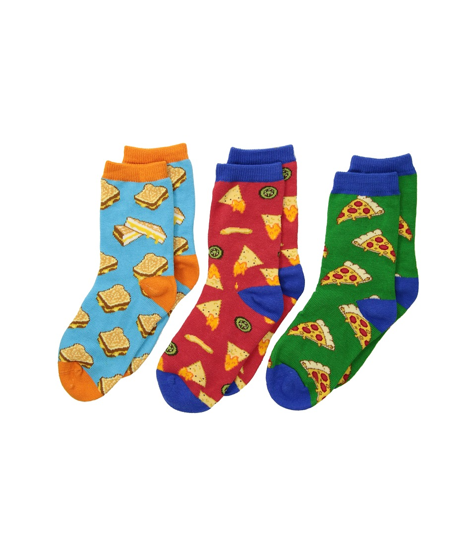 Socksmith - A Little Cheesy (Toddler/Little Kid/Big Kid) (Variety) Crew Cut Socks Shoes