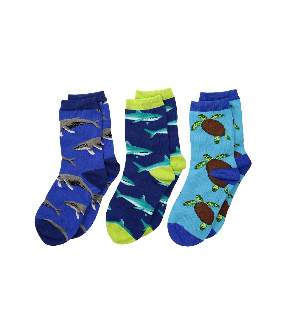Socksmith - Little Swimmers (Toddler/Little Kid/Big Kid) (Variety) Crew Cut Socks Shoes