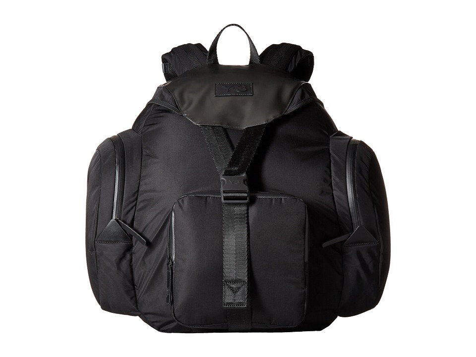adidas Y-3 by Yohji Yamamoto - Rock Backpack (Black) Backpack Bags