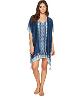 Seafolly - Border Print Kaftan Cover-Up