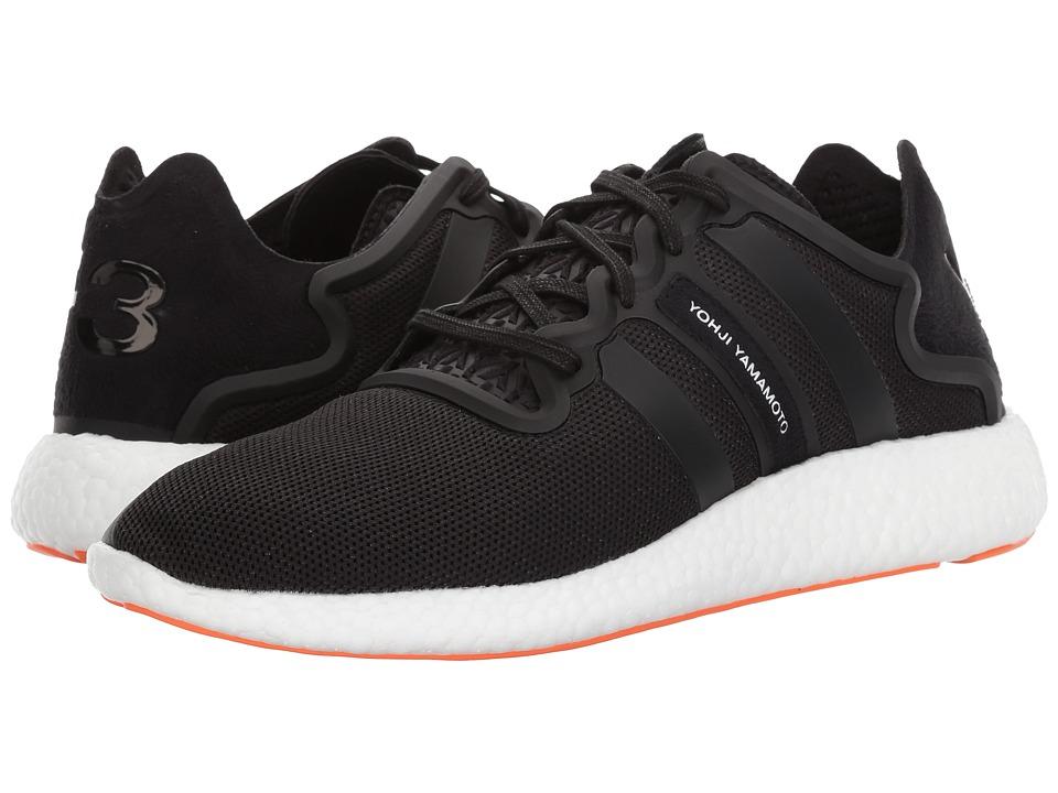 adidas Y-3 by Yohji Yamamoto Yohji Run (Core Black/Core Black/White) Shoes