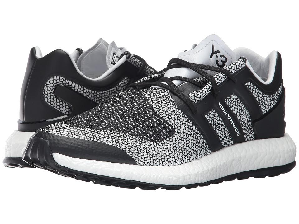 adidas Y-3 by Yohji Yamamoto Pureboost (White/Core Black/Core Black) Shoes