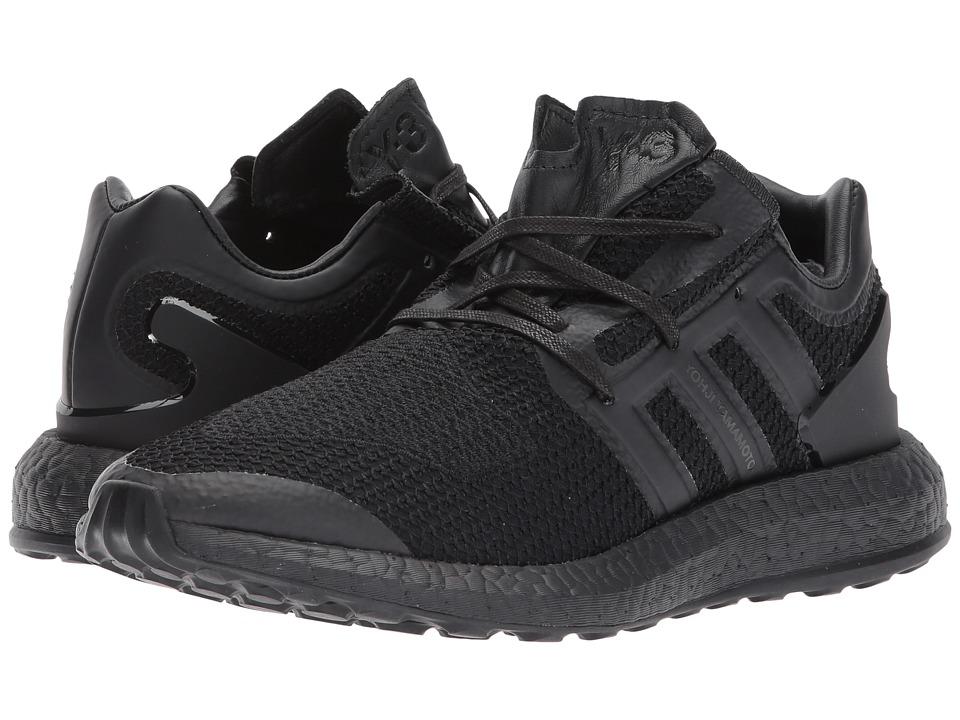 adidas Y-3 by Yohji Yamamoto Pureboost (Core Black/Core Black/Core Black) Shoes