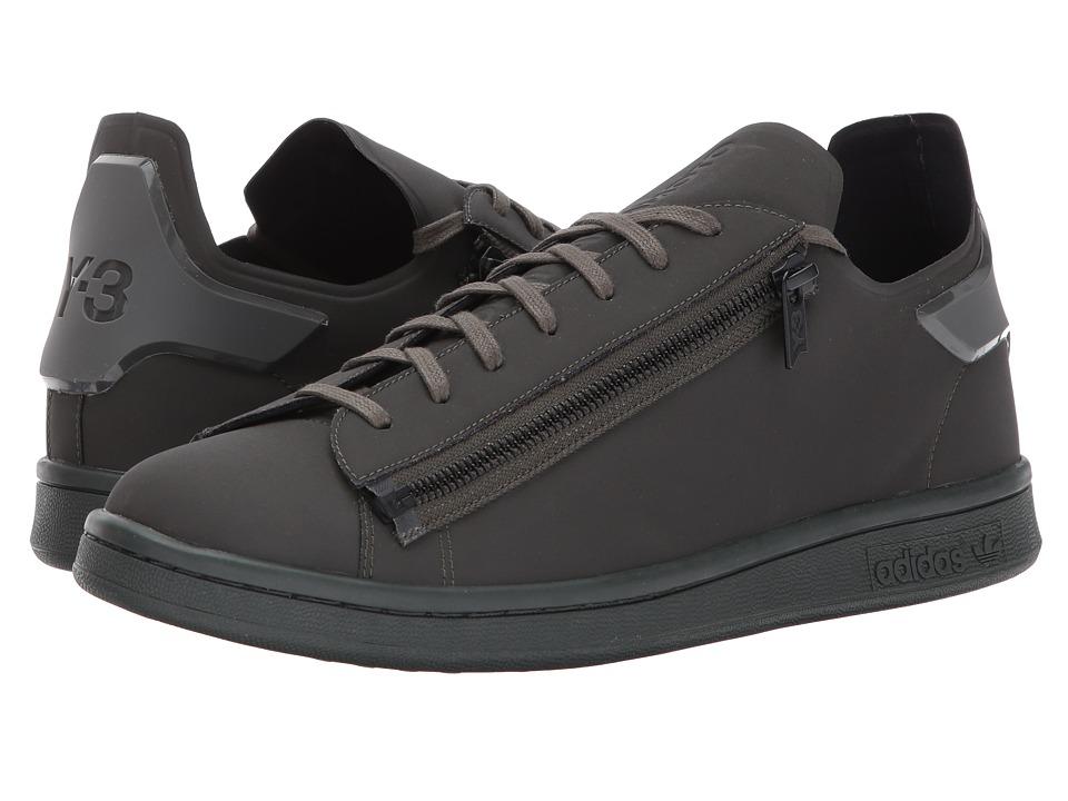 adidas Y-3 by Yohji Yamamoto Stan Zip (Black Olive/Black Olive/Black Olive) Shoes