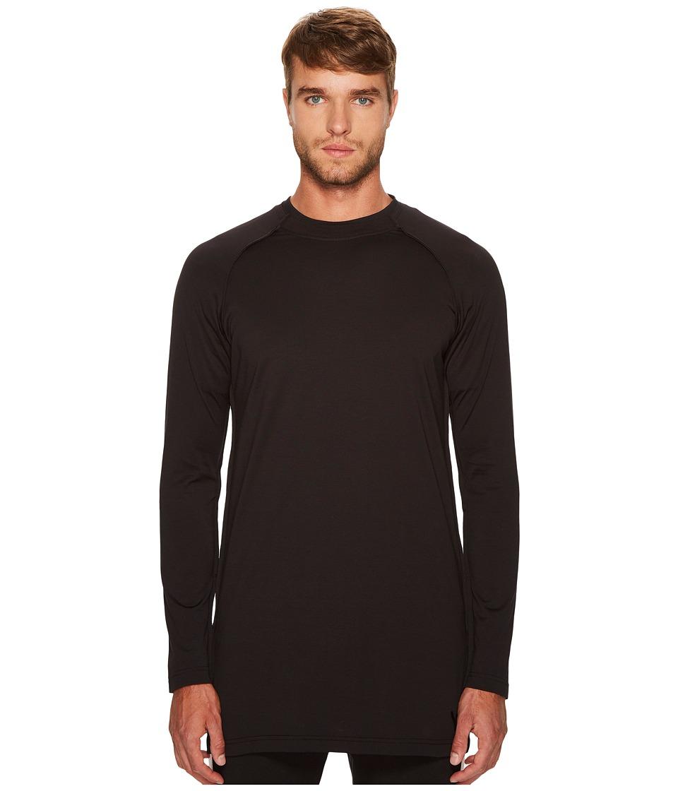 adidas Y-3 by Yohji Yamamoto Jersey Long Sleeve Tee (Black) Men