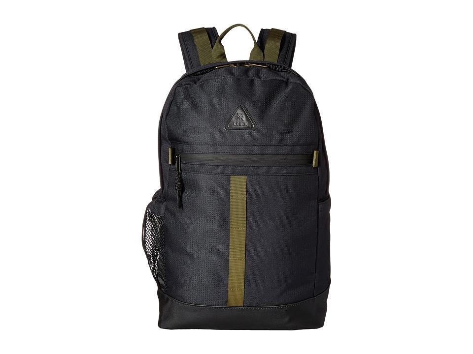 Roark Atlas 1-Day Backpack (Black) Backpack Bags