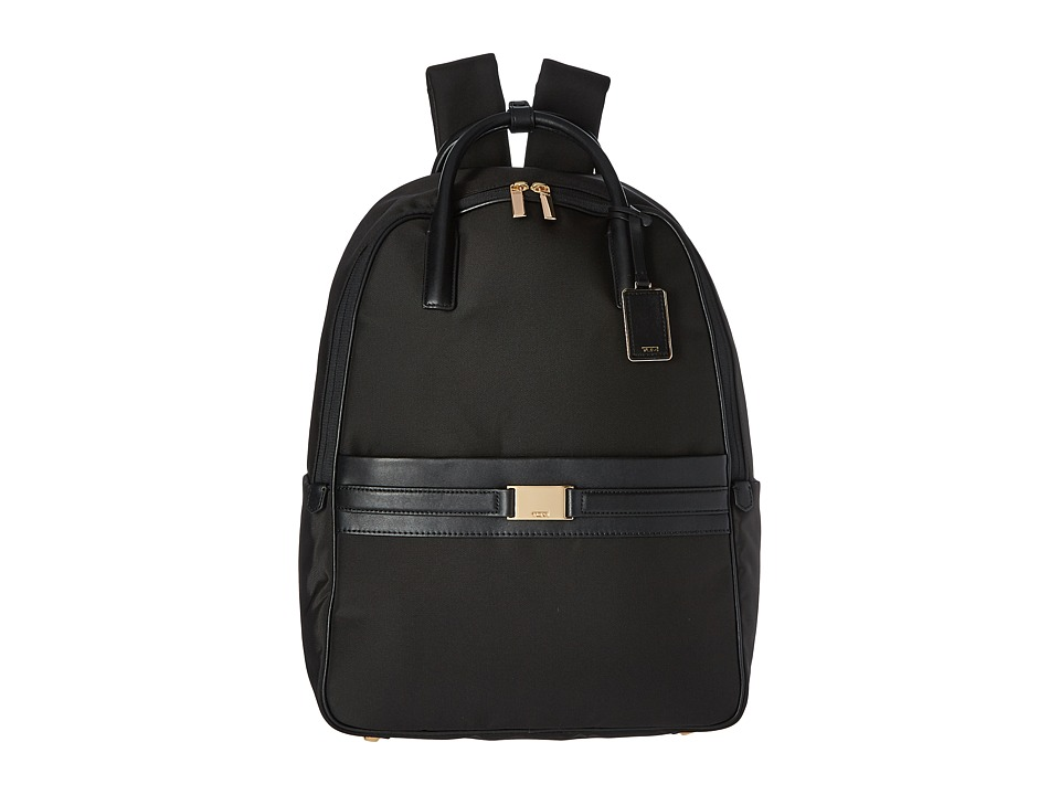 TUMI Larkin Paterson Convertible Backpack (Black) Backpac...