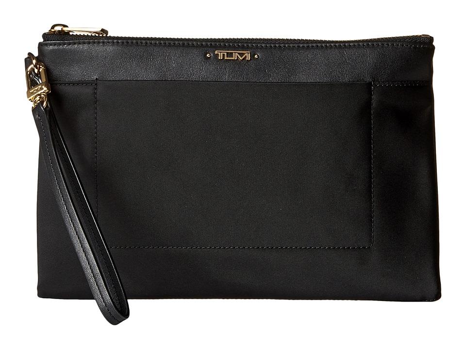 Tumi - Voyageur Lindley Wristlet (Black) Wristlet Handbags
